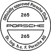 Officially approved Porsche Club 265